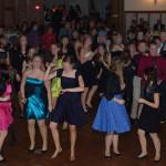 Ball einer Tanzschule