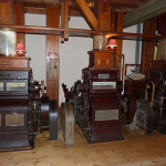 Hier sieht man die alten Getreide-Mühlen