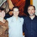 Erinnerungsbild mit Michael Hull