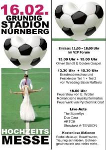 Hochzeits-Musik und Hochzeits-Band auf der Hochzeits-Messe in Nürnberg.