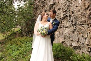 Inniges Hochzeitsfoto für Hochzeitsmusik