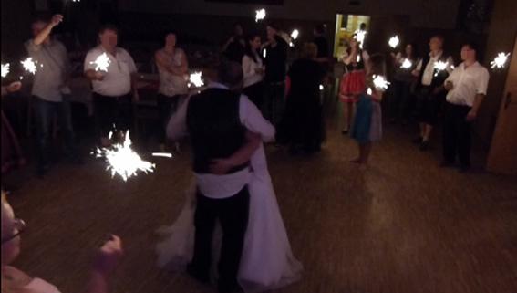 Abschlusstanz Hochzeit mit der Partyband & Hochzeitsband Ikarus