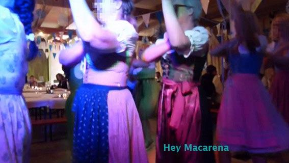 Hey Macarena mit der Partyband Musik-Duo-Cara